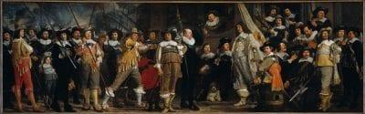 Bartholomeus van der Helst, Militiamen of the Company of Captain Roelof Bick, ca. 1639–43, Amsterdam Museum
