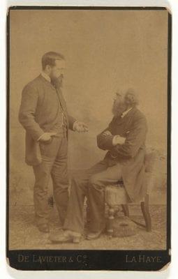 Unknown photographer, Victor E. L. de Stuers (1843–1916) and Pierre , ca. 1880, Rijksmuseum, Amsterdam