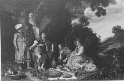Pieter Lastman, Abraham Entertaining the Angels, 1616, On loan to Schloss Wilhelmshöhe, Kassel