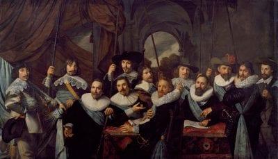 Nicolaes Eliasz Pickenoy, Company of Captain Dirck Tholinx and Lieutenant , 1639, Amsterdam Museum