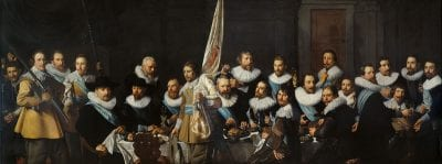 Nicolaes Eliasz Pickenoy,  Company of Captain Jacob Backer and Lieutenant J, 1632,  Amsterdam Museum