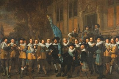 Nicolaes Eliasz Pickenoy, Company of Captain Jan Claesz van Vlooswijck and, 1642, Rijksmuseum Amsterdam