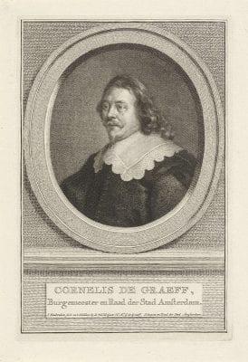 Jacob Houbraken, Portrait of Cornelis de Graeff, 1759, Rijksmuseum Amsterdam