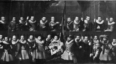 Nicolaes Eliasz Pickenoy, Company of Captain Matthijs Willemsz. Raephorst , 1630, Amsterdam Museum
