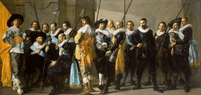 Frans Hals and Pieter Codde, Company of CaptainReinier Reaeland Lieutenan, 1639, Rijksmuseum Amsterdam