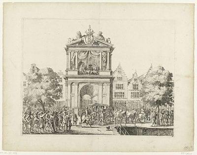 Salomon Savery, Festivities during the Visit of Maria de Médici, 1638, Rijksmuseum Amsterdam