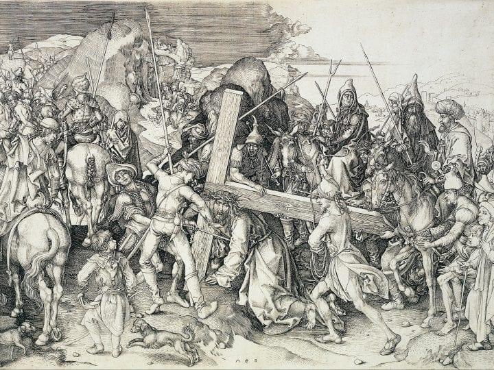 Rembrandt Looks to Schongauer