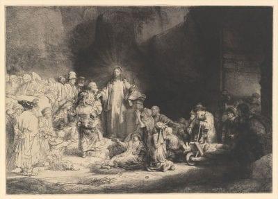 Rembrandt van Rijn, The Hundred Guilder Print, ca. 1648, The Metropolitan Museum of Art, New York