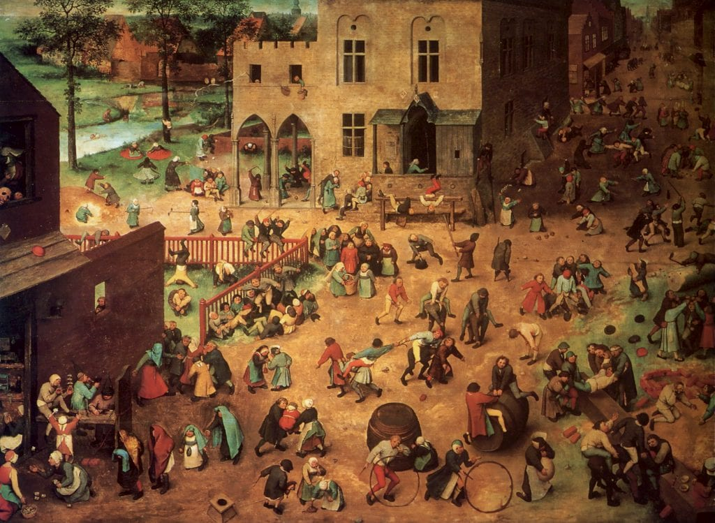 Homo ludens: Pieter Bruegel's Children's Games and the Humanist