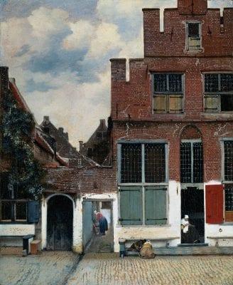 Johannes Vermeer (1632–1675), The Little Street, ca. 1659–61, Rijksmuseum, Amsterdam