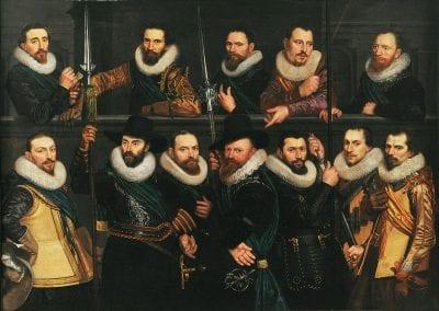 Cornelis van der Voort, Company of Pieter Dirksz Hasselaer, 1623, Amsterdam Museum