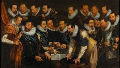 Jan Tengnagel,  Company of Captain Geurt van Beuningen and Lieut, 1613, Amsterdam Museum