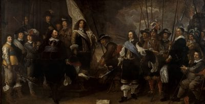 Govert Flinck,  Company of Captain Joan Huydecoper and Lieutenan, 1650, Amsterdam Museum