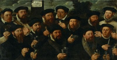Dirk Jacobsz,  Twelve Civic Guardsmen of Squad E, 1563, Amsterdam Museum