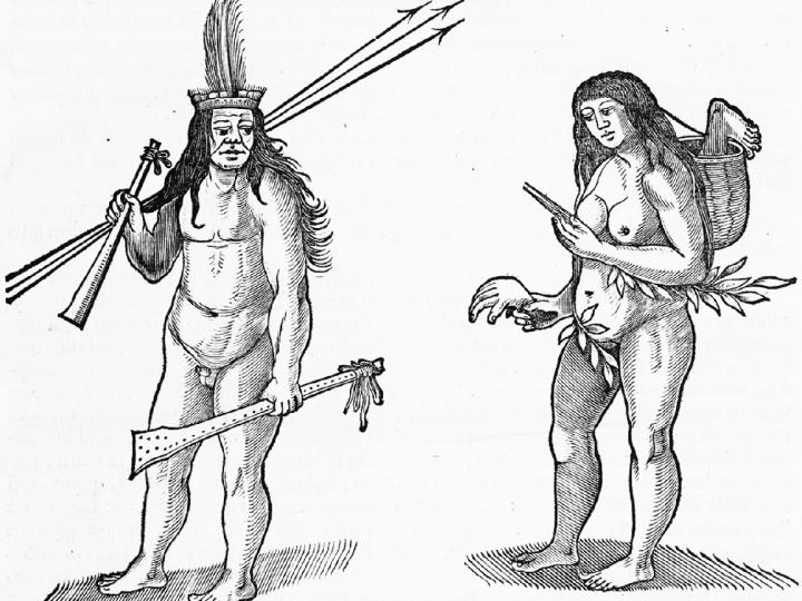 Inhabitants of Brazilafter Albert Eckhout, Fro, 1648