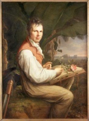 Friedrich Georg Weitsch, Alexander von Humboldt Collecting Botanical Samp, 1806, Staatliche Museen zu Berlin, Preußischer Kulturbesitz, Nationalgalerie, Berlin