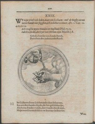 Pictura XXIX in Bartholomeus Hulsius,Emblemata s, Courtesy of Utrecht University Library