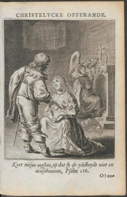 Jan Krul,  Christelycke offerande, bestaende in gheestelijc, 1640, Courtesy of Utrecht University Library