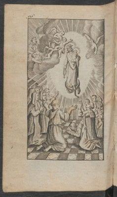 Wilhelm Nakatenus, Hemels palm-hof, ofte groot getyde-boek(Antwer, 1718, Courtesy of Utrecht University