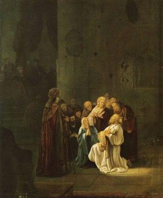 Willem de Poorter, Simeon's Song of Praise, mid-1640s, Kurpfälzisches Museum der Stadt Heidelberg, Heidelberg