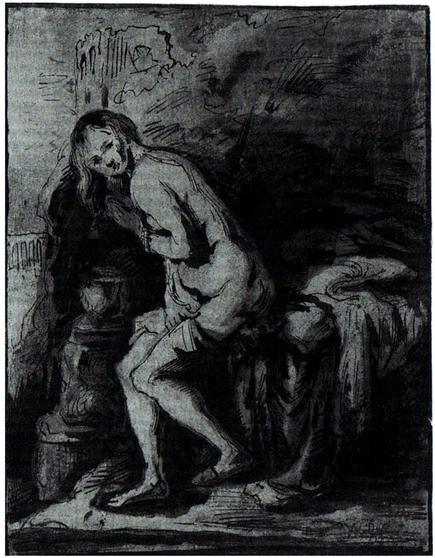 Willem de Poorter,  copy after Rembrandt's Susanna, 1636,  Kupferstichkabinett, Berlin