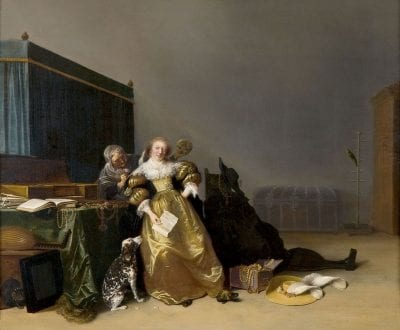 Hendrick Gerritsz. Pot, Vanitas Allegory, ca. 1633, Frans Halsmuseum, Haarlem