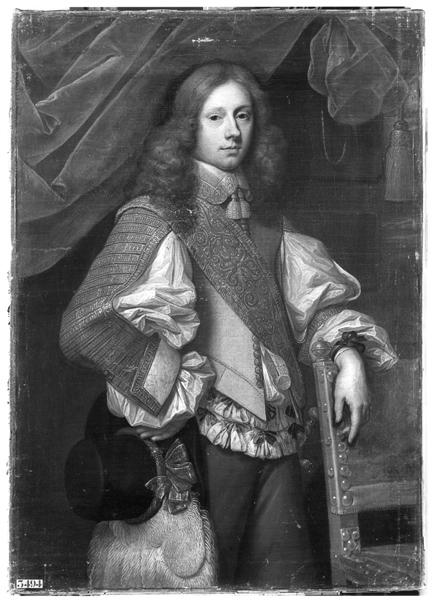 Frans Denys, François-Paulin de Brouchoven, Lord of Vechel, 1652,  Musée national du Château de Versailles