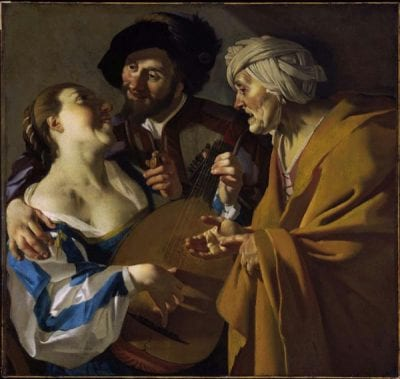 Dirck van Baburen,  The Procuress, 1622, Museum of Fine Arts, Boston