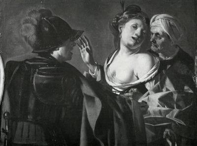 Dirck van Baburen, The Procuress, 1623, Residenz, Würzburg
