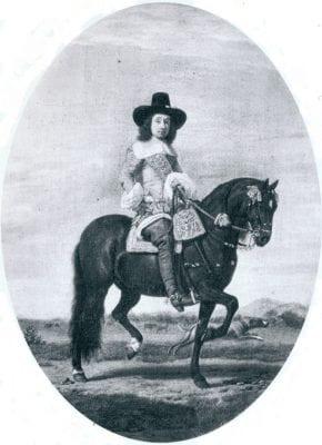 Adriaen van de Velde, Equestrian Portrait of an Unknown Man, f. 1658, Great Britain, private collection