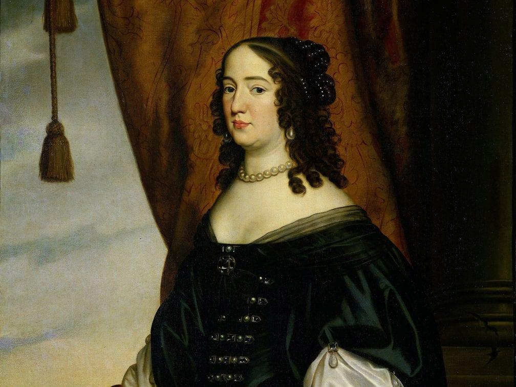 Atelier of Gerard van Honthorst, Portrait of Amalia van Solms, ca. 1650, Amsterdam, Rijksmuseum