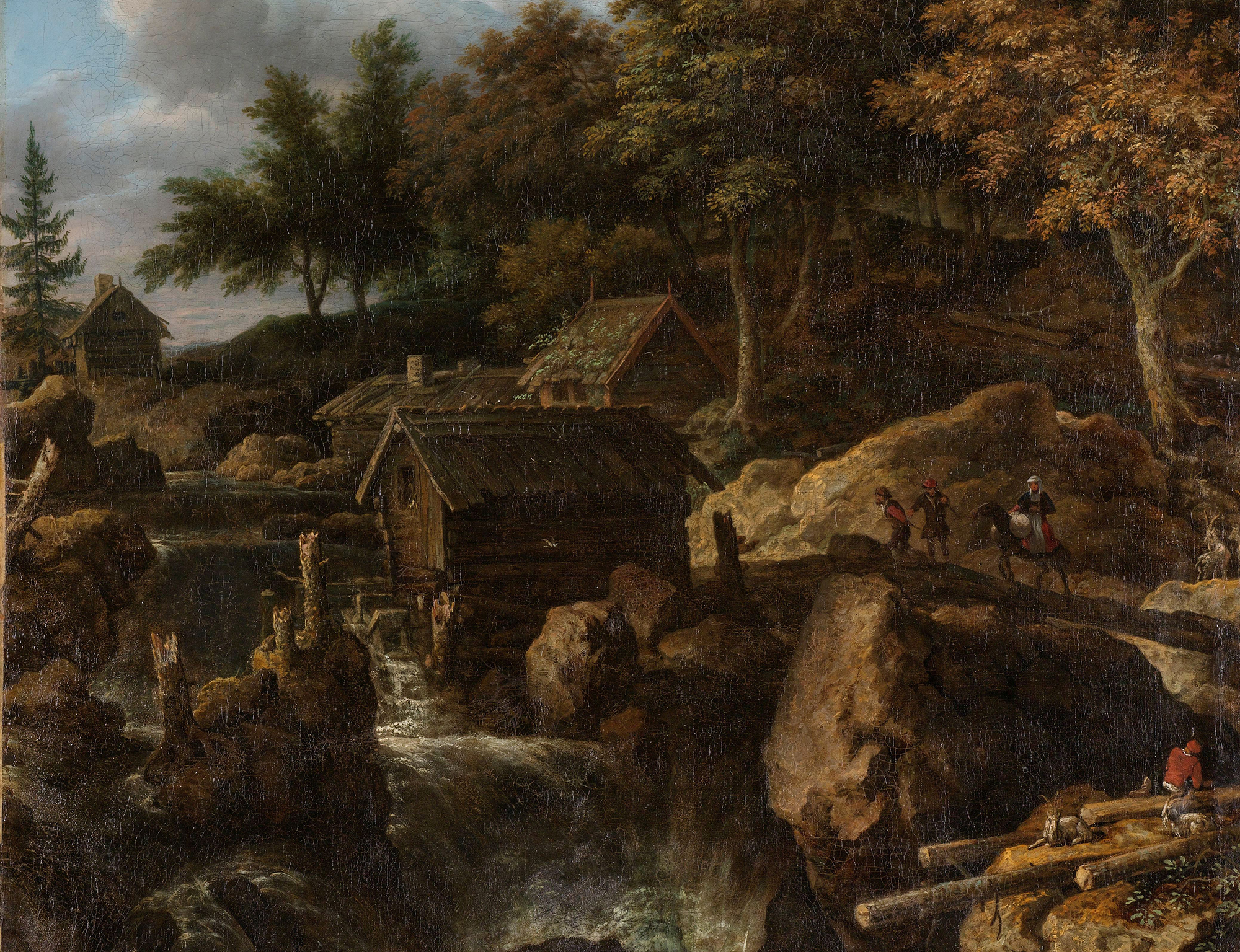 Sensible Natures Allart Van Everdingen And The Tradition Of Sublime Landscape In Seventeenth Century Dutch Painting Journal Of Historians Of