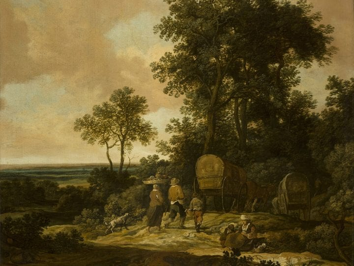 Pieter de Molijn, Peasants Returning Home, Haarlem, Frans Hals Museum