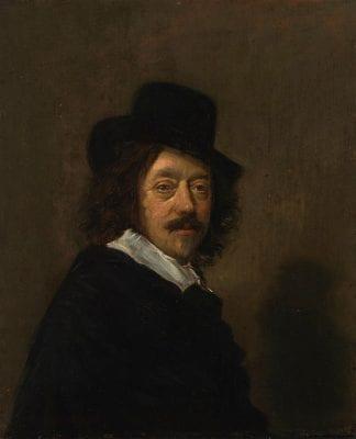 Anonymous, Frans Hals, Self-Portrait, no date, Helsinki, Finnish National Gallery