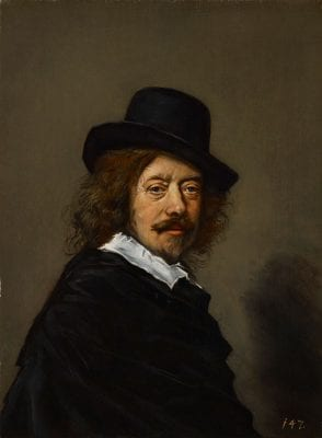 After Frans Hals, Portrait of the Artist, ca. 1650, Indianapolis Museum of Art