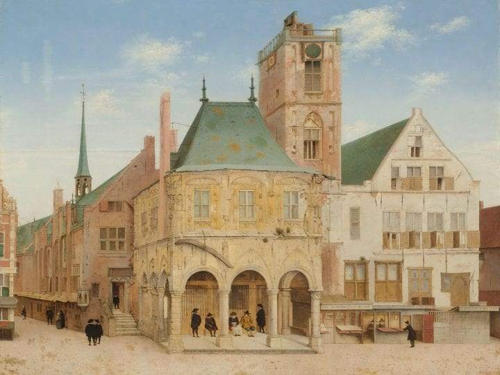 A Voice from the Past: Pieter Saenredam's <em>The Old Town Hall of Amsterdam</em>, Historical Continuity, and the Moral Sublime