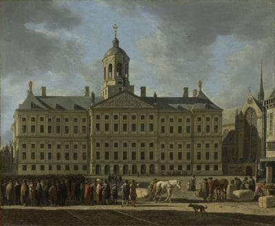 Gerrit Adriaensz. Berckheyde,  The Town Hall on the Dam in Amsterdam, 1672, Amsterdam, Rijksmuseum