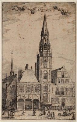Claes Jansz. Visscher, Het Stadhuys van Amsterdam(p. 216), in Ludovic, 1612,