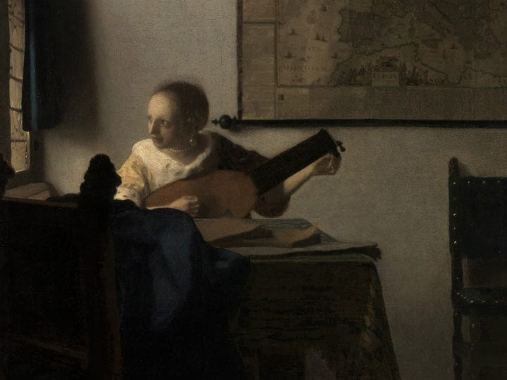 A counterfeit of what has to decay': Vermeer and the Mapping of Absence in <em>A Woman with a Lute</em>
