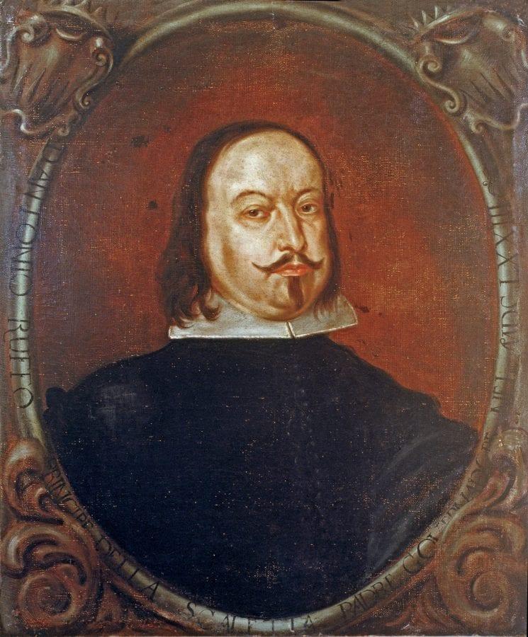 Anonymous, Portrait of Antonio Ruffo, 1673, Messina, Arciconfraternità degli Azzurri
