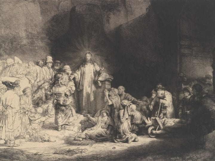 Early Reception of Rembrandt's <em>Hundred Guilder Print</em>: Jan Steen's Emulation