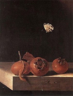 Adriaen Coorte,  Still Life with Medlars, ca. 1693–95, The Netherlands, Private Collection