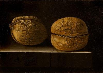 Still Life with Two Walnuts, 1702, Budapest, Szépmüvészeti Muzeum
