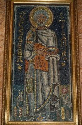 Saint Sebastian, ca. 7th century, Rome, San Pietro in Vincoli