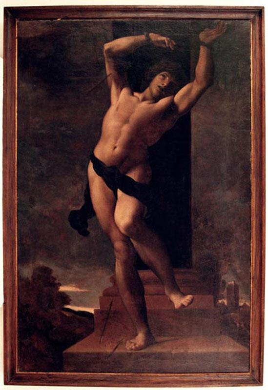 Ludovico Carracci,  Saint Sebastian, 1599,  Gravina in Puglia, Italy, Museo Fondazione Santomasi