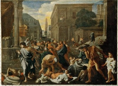 Nicolas Poussin, The Plague at Ashdod, ca. 1630–31, Paris, Musée du Louvre