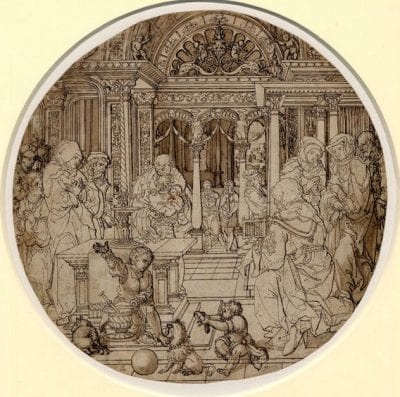 The Presentation in the Temple, 1532,  British Museum, London