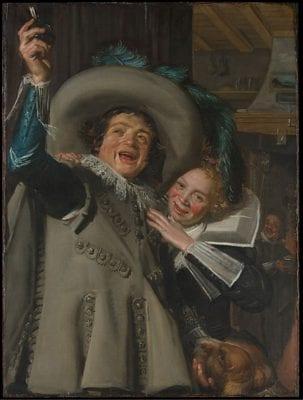 Frans Hals, Young Man and Woman in an Inn, New York, Metropolitan Museum of Art
