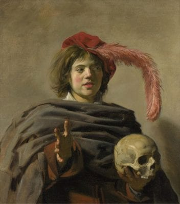 Frans Hals, Young Man Holding a Skull, London, National Gallery
