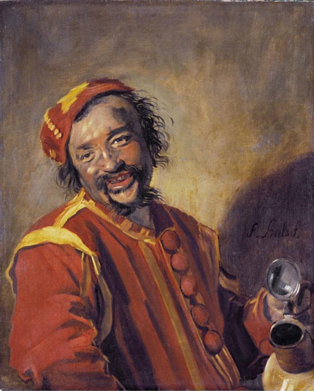 Frans Hals, Laughing Man with Jug,also known asPeeckelha,  Kassel, Staatliche Kunstsammlungen